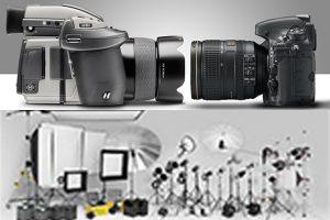 atrezzatura fotografica
